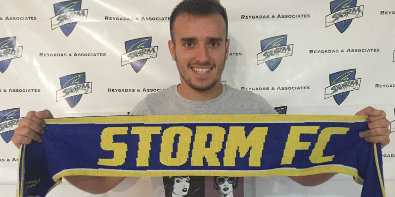 Storm FC signs Spanish winger Alex De La Rosa